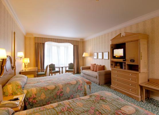 Disneyland hotel paris rooms for Standard hotel paris