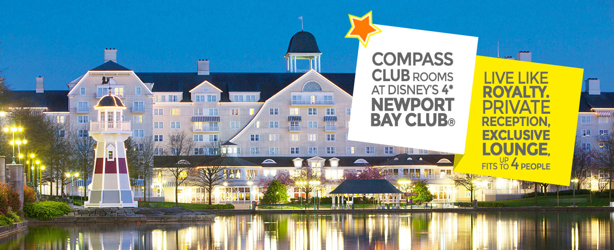 Disney's Newport Bay Club Compass Club Rooms