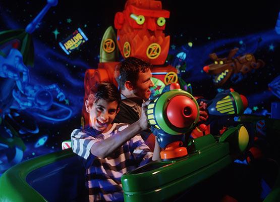 Buzz Lightyear Laser Blast Discoveryland Disneyland Paris