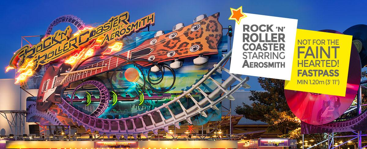Rock N Roller Coaster With Aerosmith Walt Disney