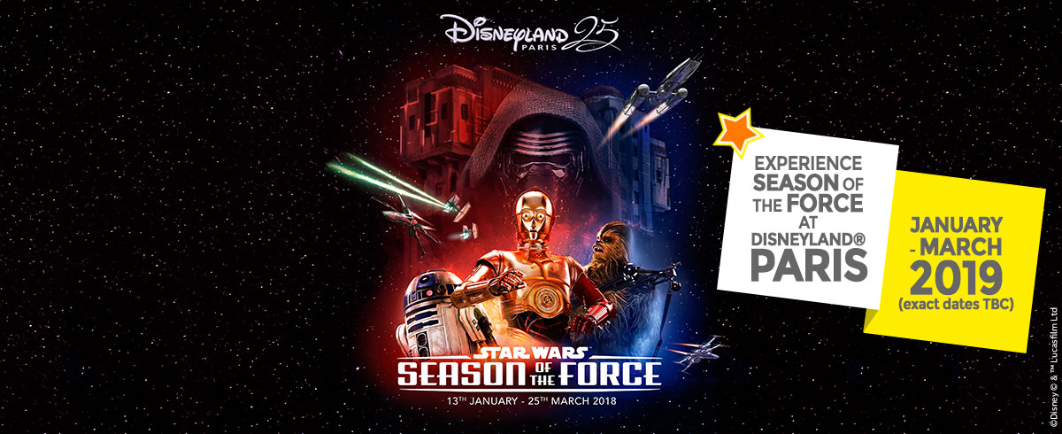 Season of the Force at Disneyland Paris