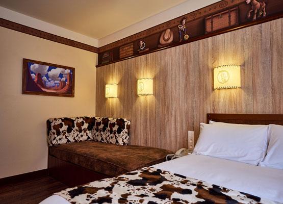 Rooms | Hotel Cheyenne | Disneyland Paris Hotels