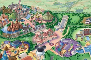 Interactive Disney Map